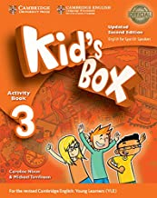 Kid's Box Level 3 Activity Book with CD ROM and My Home Booklet Updated English for Spanish Speakers Second Edition - 9788...