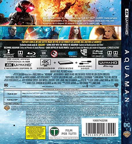 Blu-Ray - Aquaman (4K Ultra Hd+Blu-Ray) (1 BLU-RAY)