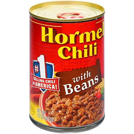 Hormel Micro Cup chili is the best canned chilli