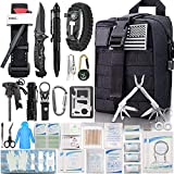 EMDMAK First Aid Kit Survival Kit, 276Pcs Tactical Molle EMT IFAK Pouch Outdoor Gear Emergency Kits...
