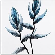 Canvas Muur Art Schilderen voor Woondecoratie Landschap Schilderij Ingelijst Kunstwerk Foto van Woonkamer Decoratie Blauw ...