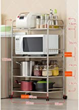 Multifunctional Kitchen Storage Rack Storage Shelf 3,4,5-Tier Kitchen Shelves Microwave Oven Rack Floorstanding Multilayer...