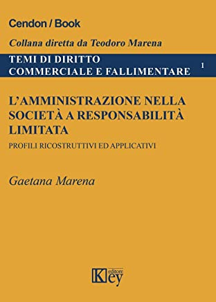 L'amministrazione nella società a responsabilità limitata: Profili ricostruttivi ed applicativi (TEMI DI DIRITTO COMMERCIALE E FALLIMENTARE Vol. 1)