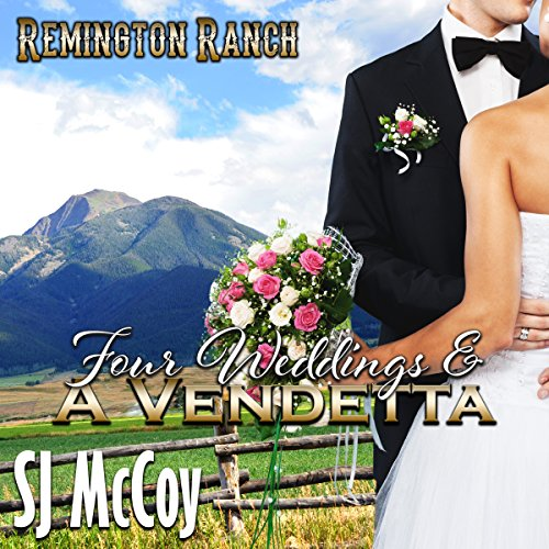Four Weddings and a Vendetta audiobook cover art