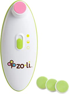 Zo-li Buzz B Baby Nail Trimmer with green Replacement Pads
