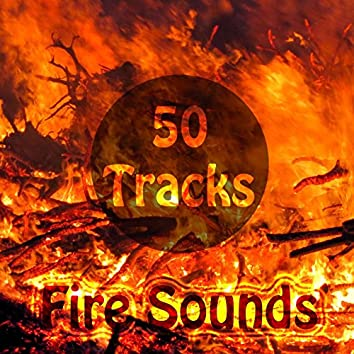 50 Tracks Fire Nature Sounds with Ambient Music for Meditation Relaxation Yoga Spa Lullababy Sleep