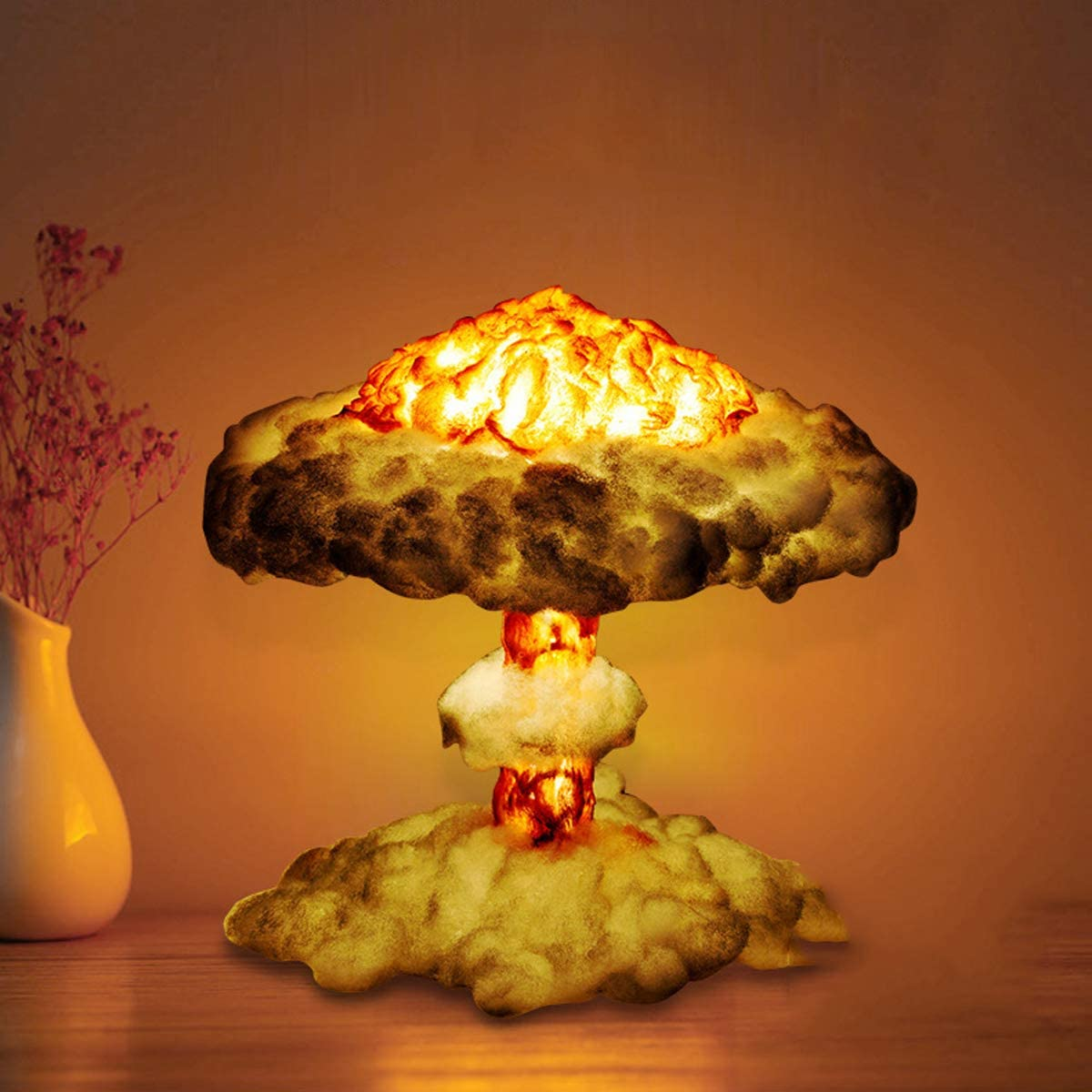 Be Popular overseas super welcome BDHBB 5W LED Night Light Nuclear Model Cloud Mushroom Explosion