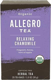 Allegro Tea, Organic Relaxing Chamomile Tea Bags, 20 ct