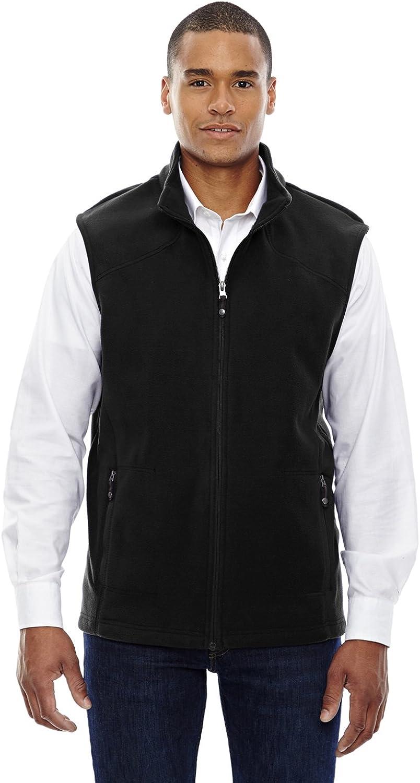 North End Mens Fleece Vest. 88173 - X-Large - Black