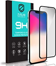 """ZUSLAB Tempered Glass Screen Protector Compatible with Apple iPhone 11 Pro/iPhone Xs 5.8"""" Case Friendly 9H Hardness"""