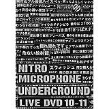 NITRO MICROPHONE UNDERGROUND LIVE DVD 10-11