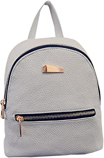AutumnFall Women Casual Backpack Rucksack Cute School Backpack (Gray)