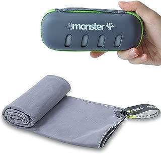 4Monster Microfiber Towel, Travel Towel, Camping Towel,...