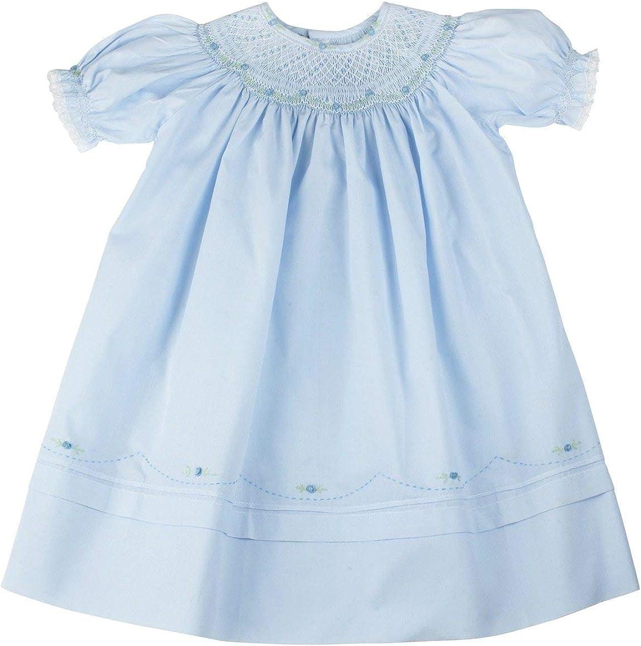 Ranking TOP19 Girls Blue Smocked Louisville-Jefferson County Mall Portrait Brothers Dress Bishop Feltman