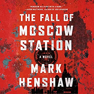 The Fall of Moscow Station audiobook cover art