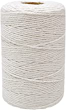 200M (218 Yard) 12-Ply Cotton Twine String,Cooking Kitchen Twine String Craft String Baker Twine for Tying Homemade Meat,M...