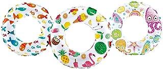 Intex Lively Print Swim Ring - 59230