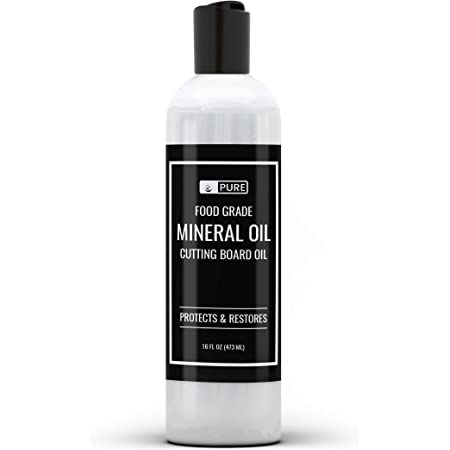 Mineral Oil (16 oz) Food Safe, for Cutting Boards, Butcher Blocks, Counter Tops, Wood Utensils