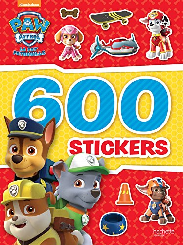 Paw Patrol-La Pat'Patrouille - 600 stickers