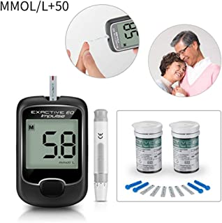 ALLOMN Blood Sugar Tester, Diabetes Test Kit, Quick and