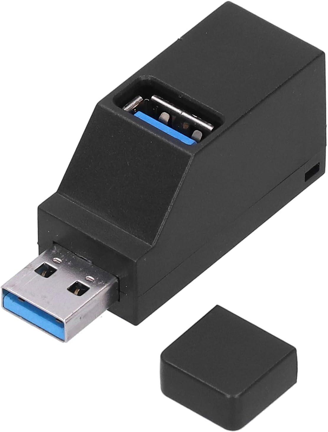 USB Hub Portable USB Hub 3 Port USB Hub with Comprehensive Compatibility USB2.0 USB3.0 Interface