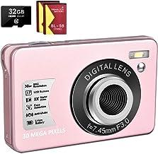 1080P Digital Camera 30MP Camera Compact Camera 2.7 inch...