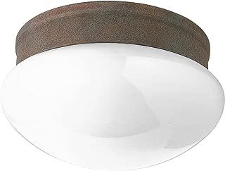 Progress Lighting P3410-33 2-Light Close-To-Ceiling Fixture, Cobblestone