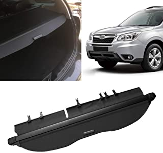Yeeoy Cargo Cover Black Fits 2014-2016 Subaru Forester Cargo Security Shield Luggage Shade Rear Trunk Cover