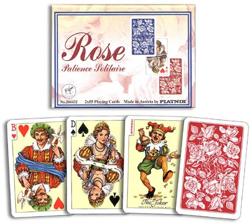 Piatnik Kartenspiele, Patience Rose Solitaire
