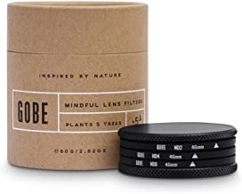 Gobe 46mm ND8  ND64  ND1000 Lens Filter Kit  1Peak