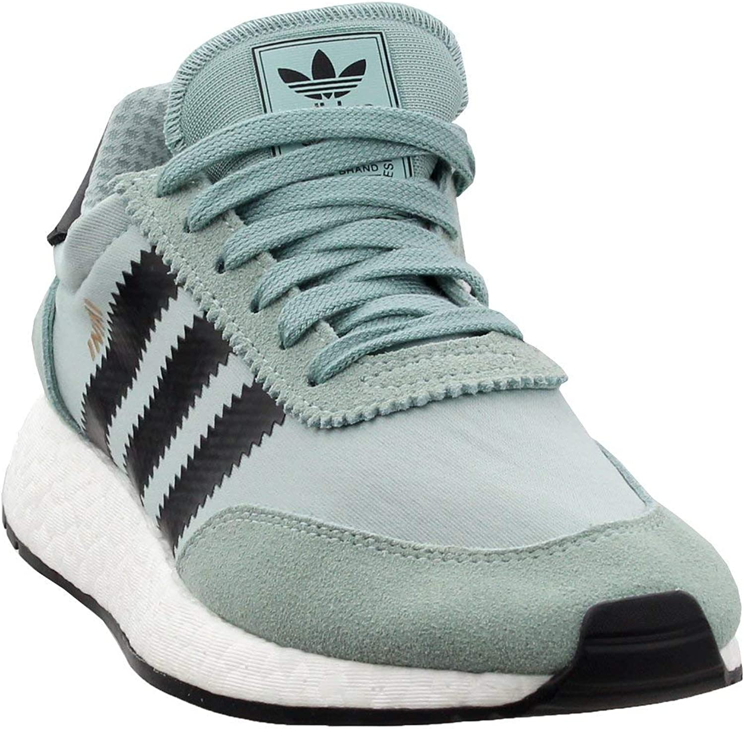 Adidas Iniki Runner Womens in Tactile Green Core Black, 9.5