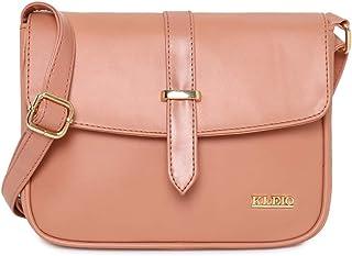 KLEIO PU Sling Bag for Women/Girls