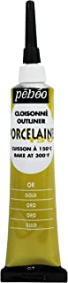 PEBEO Porcelaine 150, China Paint Outliner, 20 ml Tube - Gold