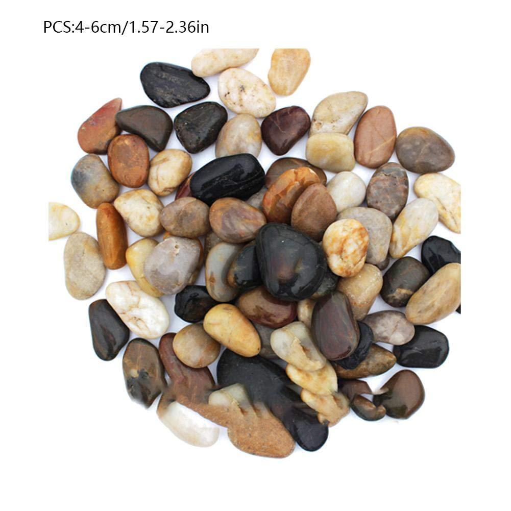 gaeruite 1-6CM 500g Piedras pequeñas para jardín Piedras Decorativas y Coloridas al Aire Libre: Amazon.es: Hogar