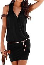 5c52f549387d Amazon.es: Vestido Con Escote V