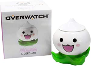 Surreal Entertainment Exclusive Overwatch Pachimari Stash Jar | Small Stash Container with Lid | Store Valuables, Herbs, Spices, & More | 5 Inches Tall
