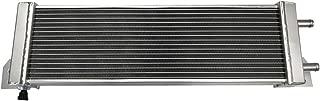 Universal Air to Water Intercooler Aluminum Liquid Heat Exchanger Silver