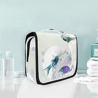 MALPLENA Portable Storage Bag Freelance-Wallpaper-Designer-London-Uk-Illustrator Travel Makeup Bag Cosmetic Bag for Makeup Brushes Toiletry Jewelry Accessories