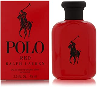 Polo Red by Ralph Lauren for Men 2.5 oz Eau de Toilette Spray