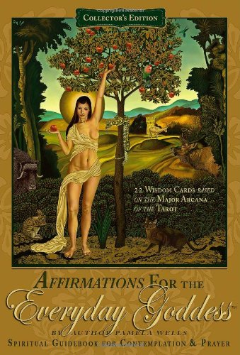 Affirmations for the Everyday Goddess Spiritual Guidebook and 22 Wisdom Cards for Contemplation and Prayer