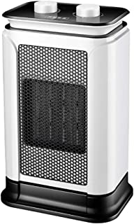 RUIX Calefactor - Calentador Silencioso De Cerámica De PTC del Hogar, Calentador Eléctrico Ajustable De Calentamiento Rápido, 1500W, 22 * 15 * 33Cm