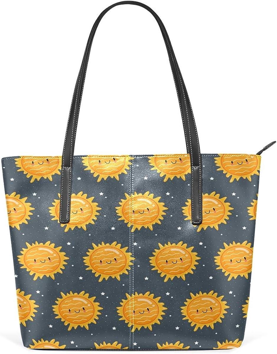 Galaxy Pattern Sun Leisure Fashion Genuine for Handbag New products, world's highest quality popular! PU Leather Women