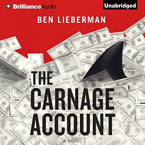 The Carnage Account audiobook cover art