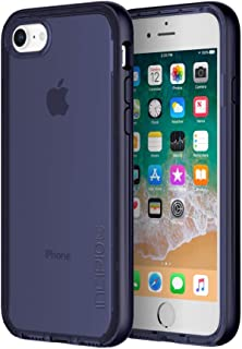 Incipio Octane LUX iPhone 8 Case with Translucent Interior and Metallic Bumper for iPhone 8 - Midnight Blue