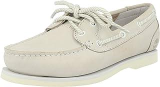 Timberland Chaussures Bateau pour Femme A2A6W Classic Boat Vapor Blue