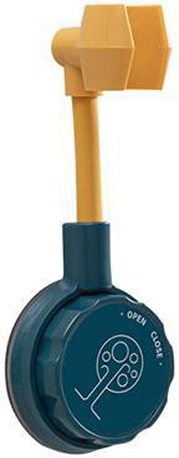 Juhuitong Support De Pomme De Douche Rotatif R/églable Montage Mural Auto-adh/ésif Autocollant Support De Pomme De Douche Adsorption sans Poin/çonnage Portable Support De Pomme De Douche