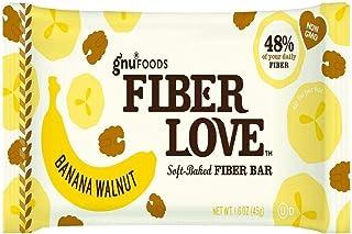 NuGo Nutrition Fiber D'Lish Bar - Banana Walnut 16 Bar(S)