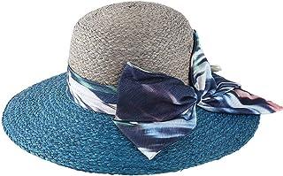 WN - Sombrero - Sombrero para el Sol Sombrero Damas Verano Protección Solar Sombrero para el Sol Viaje al Aire Libre Protección UV Sombrero de Playa de Borde Ancho (3 Colores) Sombrero para Mujer