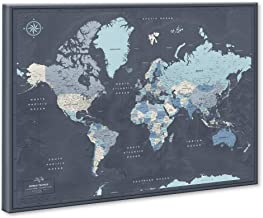 Best custom world travel map Reviews