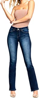 Classic Mid-Rise Denim Bootcut Jeans, New Blue